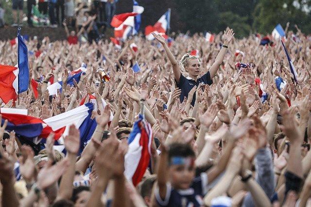 Oslavy vítězství mistrovství světa byly bouřlivé