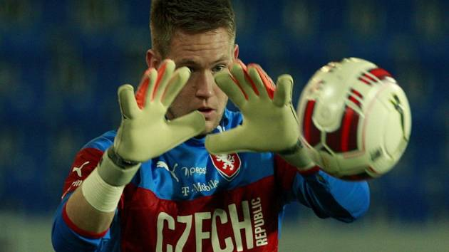 Brankář fotbalové reprezentace Tomáš Vaclík.