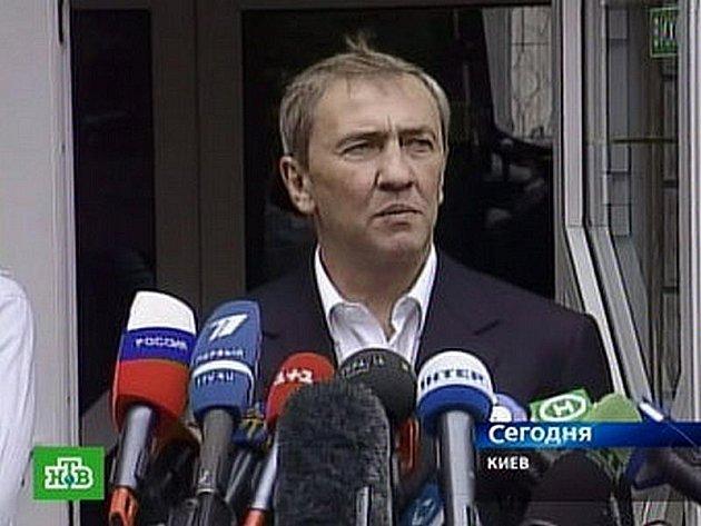 Starosta Kyjeva Leonid Černoveckyj.