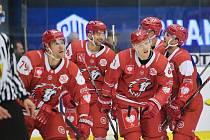 Radost hokejistů Lausanne.