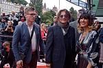 Johnny Depp na festivalu v Karlových Varech