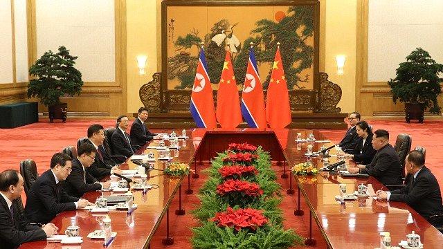 Severokorejský vůdce Kim Čong-un navštívil Peking