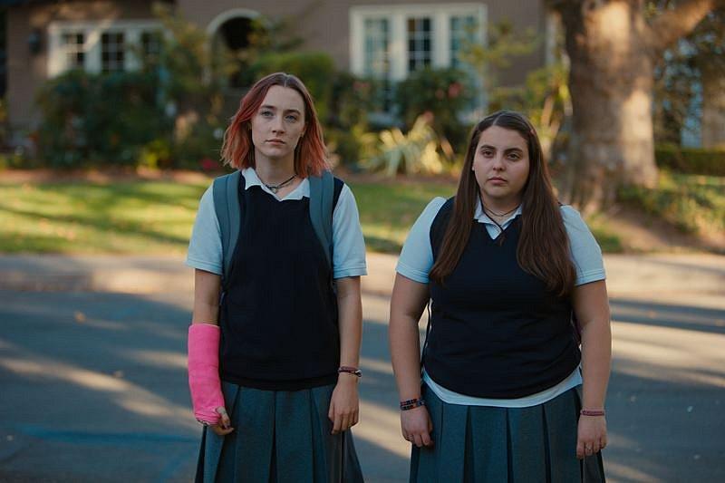 Saoirse Ronanová v roli Christine.