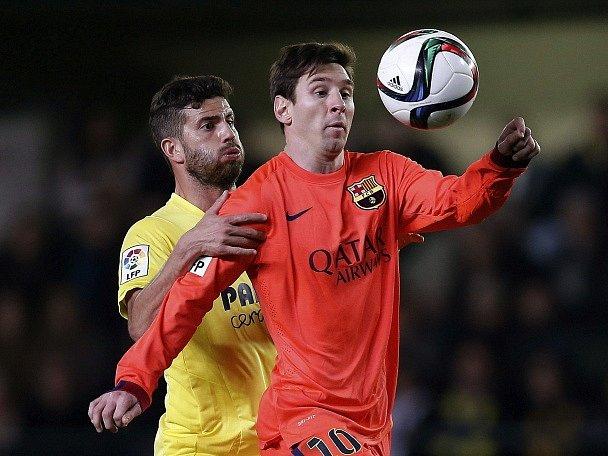 Lionel Messi v poháru proti Villarrealu