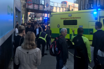 U stanice metra Parsons Green vypukl chaos