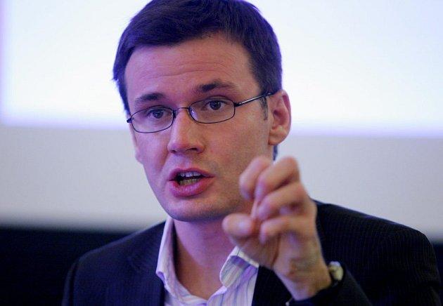 Ministr školství Ondřej Liška (Strana Zelených)