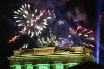 Příchod nového roku v Německu