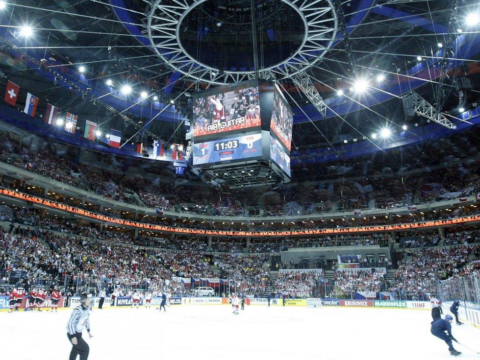 O2 arena.