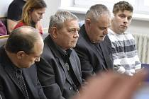 Miroslav Smolík, Václav Filip, Petr Bujáček a Petr Plášek