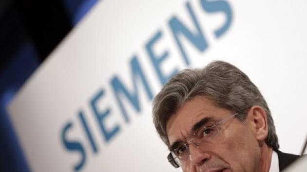 Šéf německého strojírenského koncernu Siemens Joe Kaeser.