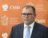 Nově zvolený místopředseda Sněmovny Tomáš Hanzel.