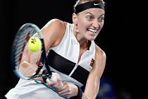 Petra Kvitová na tenisovém Australian Open