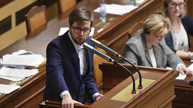 Předseda poslaneckého klubu České pirátské strany Jakub Michálek