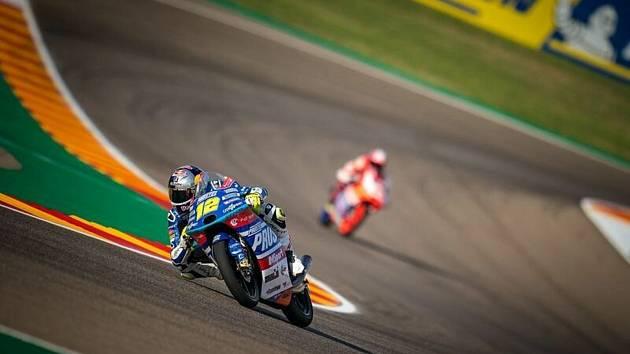 Motocyklista Filip SalačFilip Salač měl motocyklové Velké ceny Ameriky těžký pád a závod Moto3 byl po jeho nehodě zastaven.
