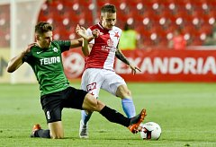 SK Slavia Praha – FK Jablonec 0:2 (0:1).