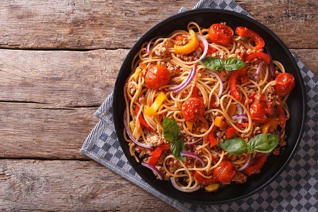 Špagety zjednoho hrnce
