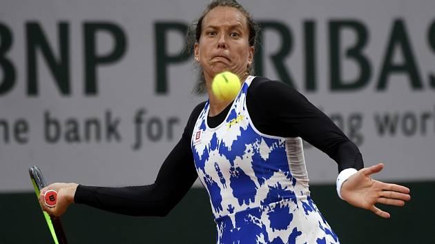 Tenistka Barbora Strýcová postupuje na Roland Garros do druhého kola.