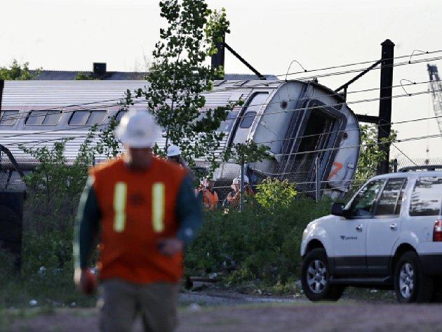 V americkém státě Kansas vykolejila vlaková souprava společnosti Amtrak. Ilustrační foto.
