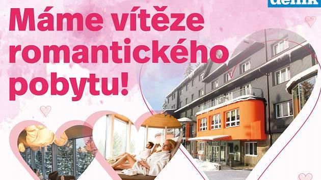 Valentýnská soutěž o romantický pobyt.