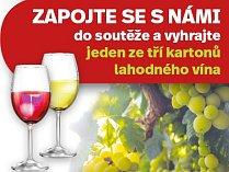 Vyhrajte jeden ze tří kartonů lahodného vína