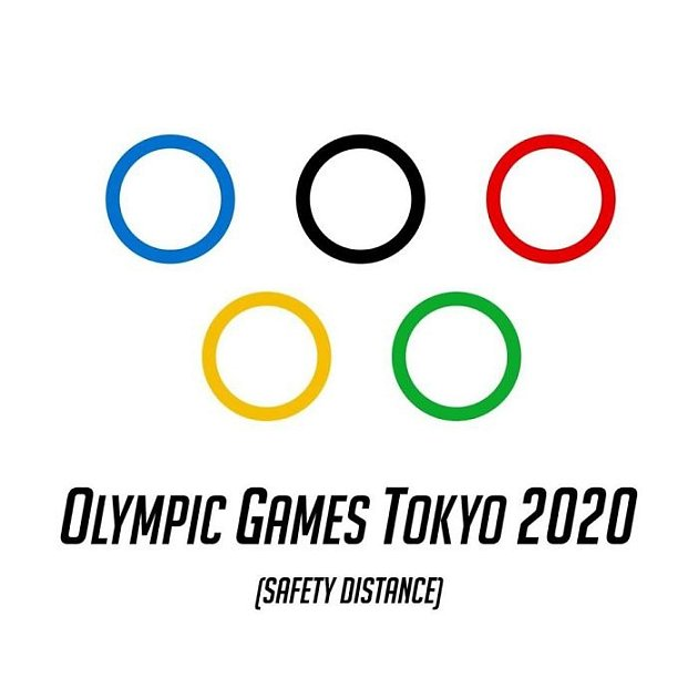 Bezpečná vzdálenost na olympiádě.