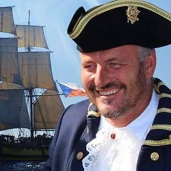Kapitán brigy La Grace Josef Dvorský