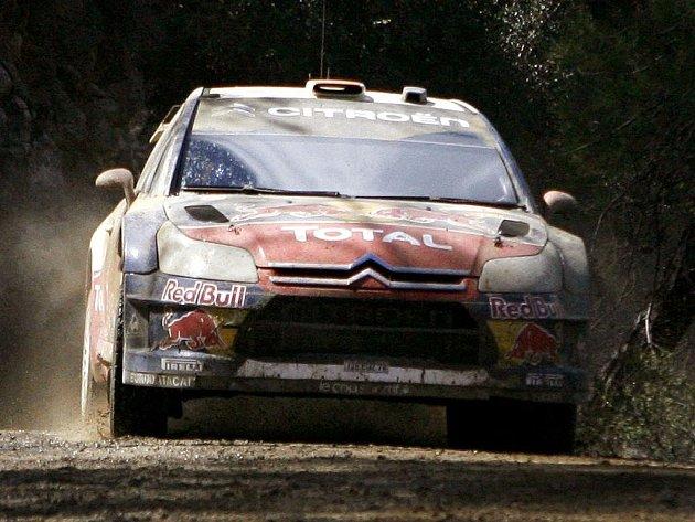 Francouz Sébastien Loeb vyhrál kyperskou rallye, bylo to jeho padesáté vítězství v kariéře.