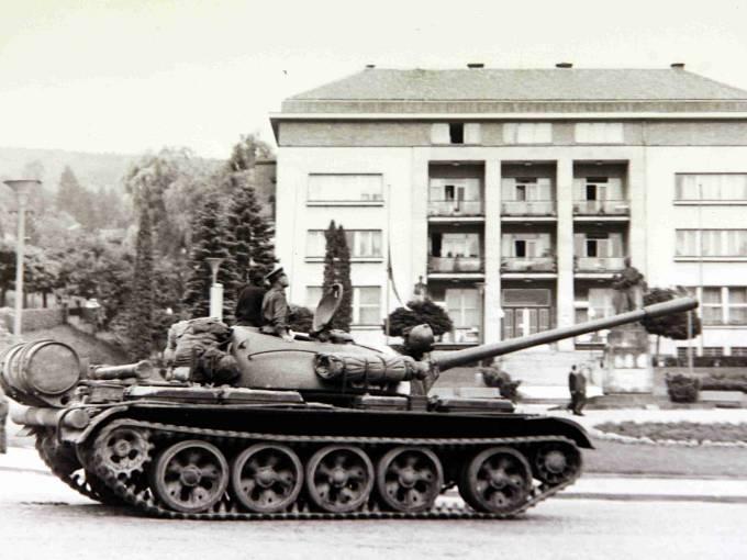 Okupace srpen 1968. Ilustrační foto.