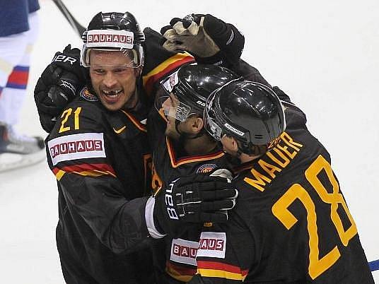 Němečtí hokejisté si na MS připsali druhý cenný skalp.