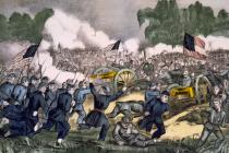 Bitva u Gettysburgu byla jednou z nejkrvavějších bitev americké občanské války