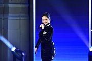 Zpěvačka Lucie Bílá vystoupila 25. listopadu v pražském Hudebním divadle Karlín při vyhlašování vítězů 52. ročníku ankety Český slavík Mattoni.