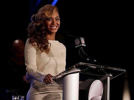 Zpěvačka Beyoncé je nejvýznamnější interpretkou uplynulých let.