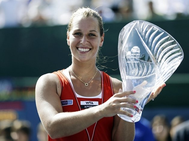 Dominika Cibulková vyhrála turnaj v Carlsbadu.