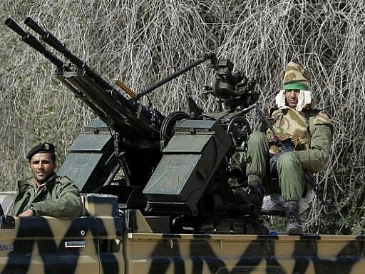 Libyjští vojáci. Ilustrační foto