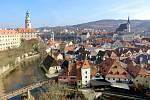 Český Krumlov je letos velkým lákadlem českých turistů.