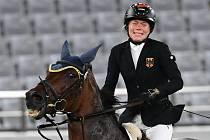 Annika Schleuová během olympiády v Tokiu