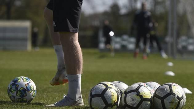 Fotbalový trénink - ilustrační foto.