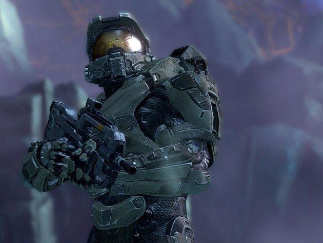 Počítačová hra Halo 4.