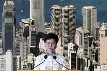 Správkyně Hongkongu Carrie Lamová