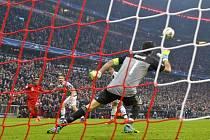 Kingsley Coman tímto gólem srazil vaz Juventusu Turín