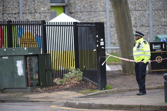 Britský policista, ilustrační foto
