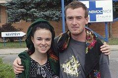 Markéta Všelichová a Miroslav Farkas