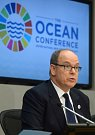 Monacký kníže Albert na konferenci OSN