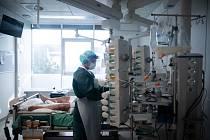 Péče o pacienta s koronavirem v Essenu