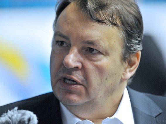 Předseda hokejového svazu Tomáš Král.