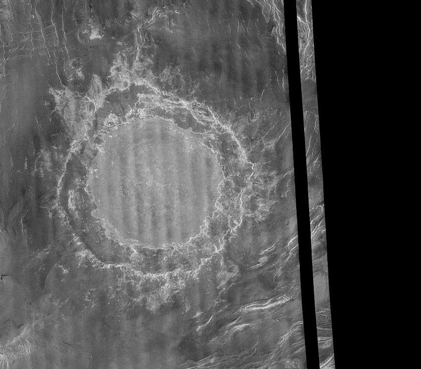 Kráter Margaret Mead na Venuši