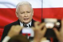 Předseda národně-konzervativní strany Právo a spravedlnost (PiS) Jaroslaw Kaczyński.