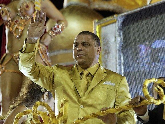 Ronaldo během karnevalu