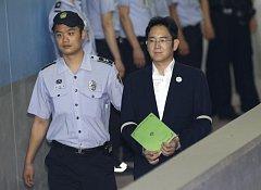 Dědic společnosti Samsung I Če-jong je ve vězení od února 2017.
