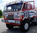 TATRA TRUCKS zrenovovala a ukázala jeden ze svých prvních dakarských závodních vozů